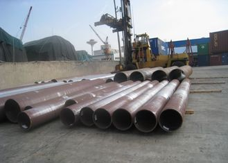 Round Hot Rolled Seamless Steel Tube 56'' Large Caliber Heavy Thickness For Boiler